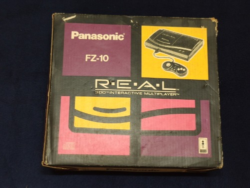 Panasonic 3DO REAL [FZ-10] 박스